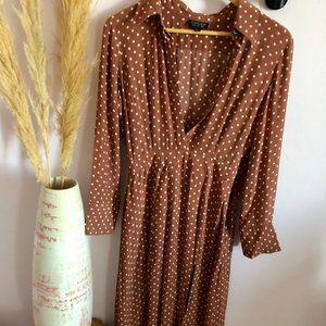 Topshop Vintage inspired polka dot dress